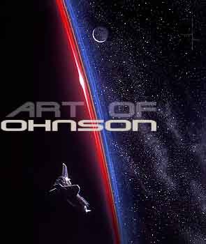 The Space Art of B.E.Johnson.
