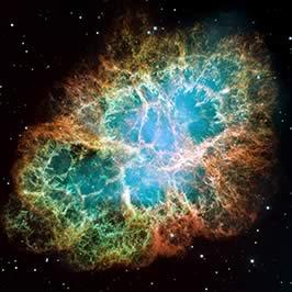 The Crab Nebula in Optical Wavelengths